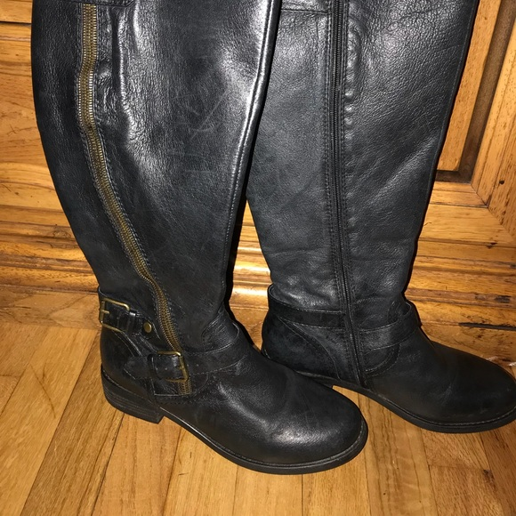 8a5ef8de8f9c STEVE MADDEN WIDE CALF BOOTS BEAUTIFUL BLACK. M 5a62e477a4c4853ed03214ae